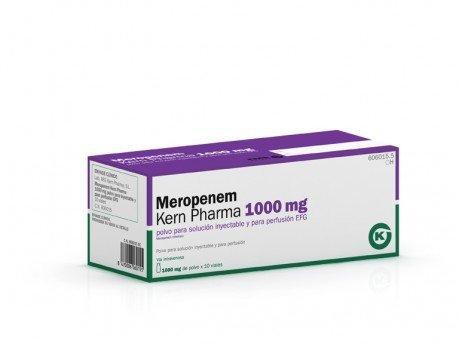 Меронем 1000 мг