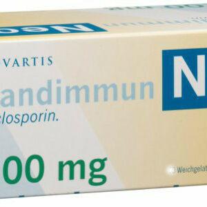Сандиммун неорал 100 мг