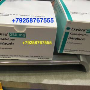 Dasabuvir (Exviera)