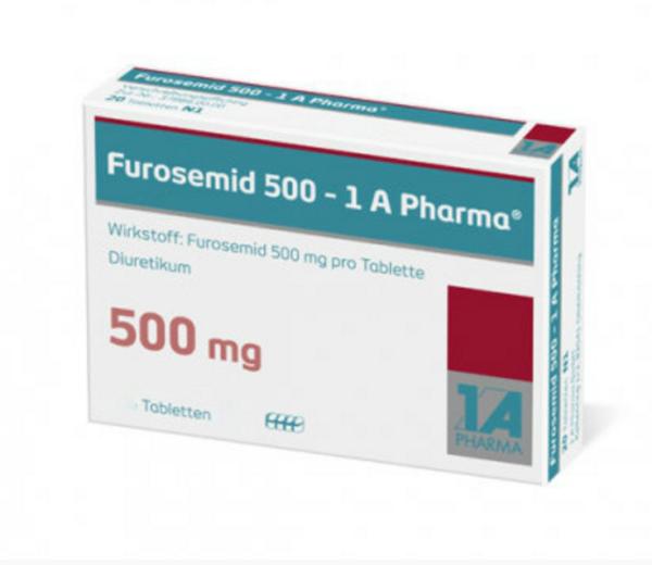 Фуросемид 500 мг