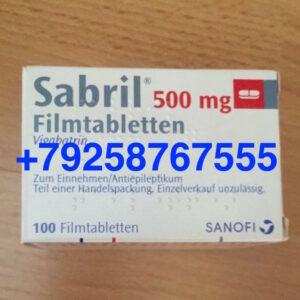 Сабрил таблетки (sabril 500 mg)
